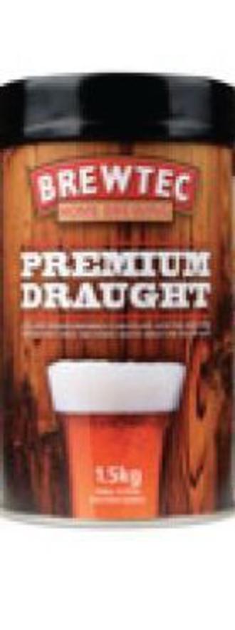 Brewtec Premium Draught Beerkit 1.7kg