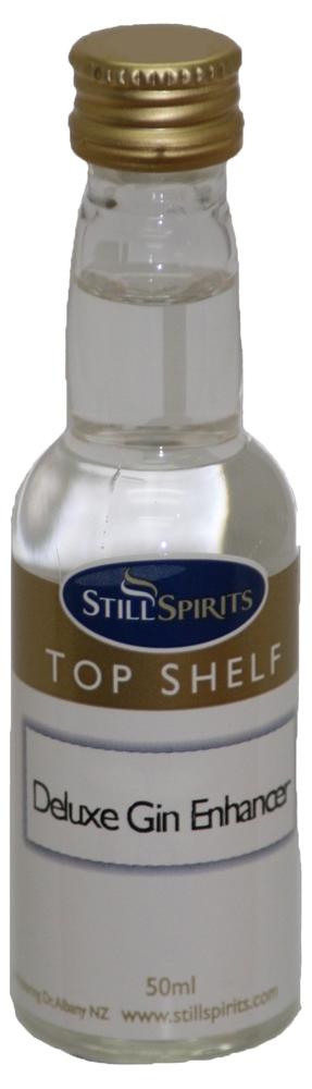 Top Shelf Gin Profile - Deluxe Gin Enhancer