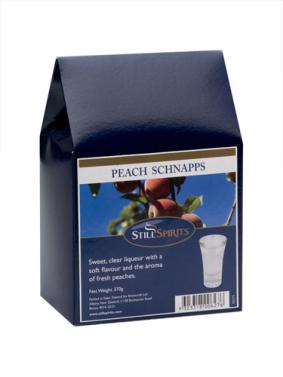 Top Shelf Peach Schnapps Liqueur Kit