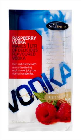 Still Spirits Raspberry Vodka 1L Sachet