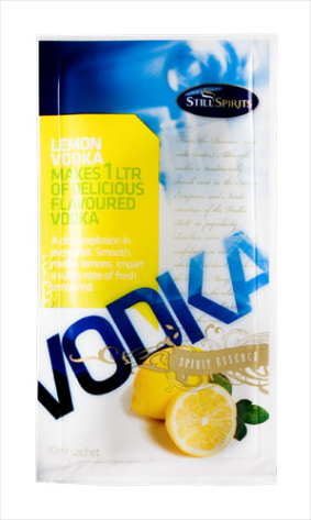 Still Spirits Lemon Vodka 1L Sachet