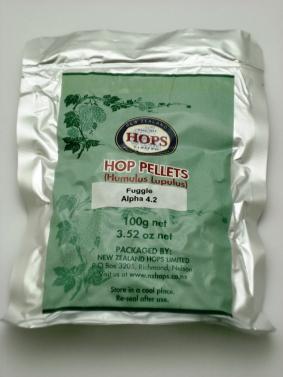 Hop Pellets Fuggle 100g