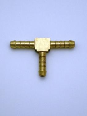 Brass T Piece 6 mm