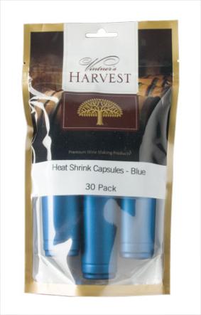 Vintner's Harvest Heat Shrink Capsules - Blue x30