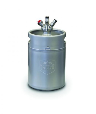 5 Litre Mini Keg with Ball Lock Cap