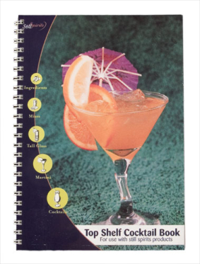 Top Shelf Cocktail Book