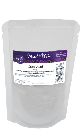 Mad Millie Citric Acid 100g