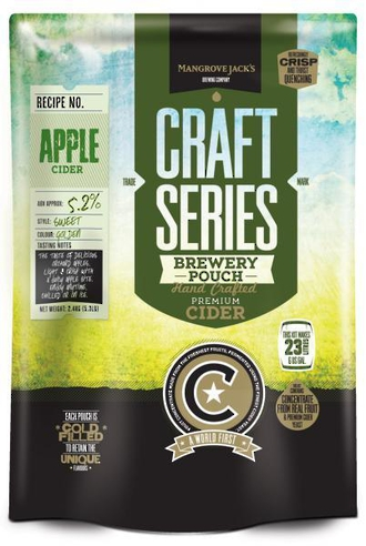 "Mangrove Jack's Craft Series ""Apple Cider Pouch"" 2.4kg"