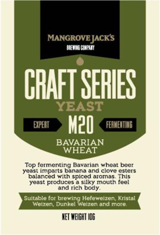 "Mangrove Jack's ""Bavarian Wheat M20"" Yeast"