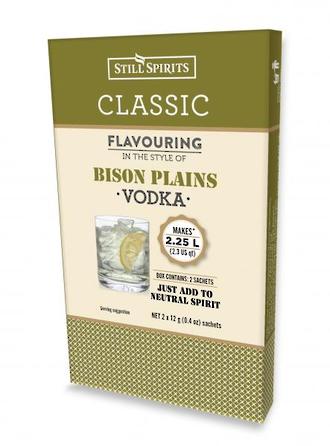 """Classic """"Bison Plains Vodka"""""""