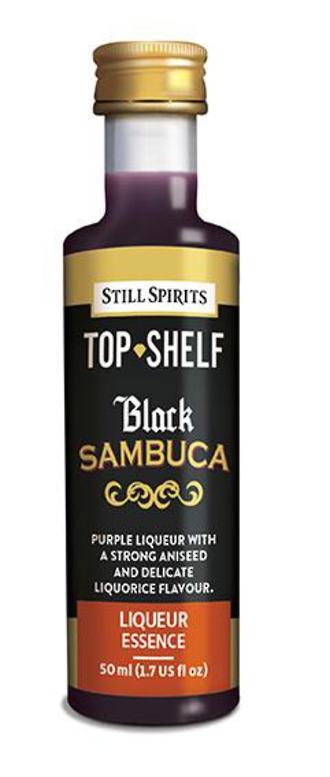 Top Shelf Black Sambuca