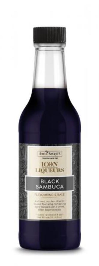 Still Spirits Black Sambuca Icon 330ml Bottle