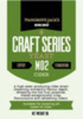 "Mangrove Jack's ""Cider M02"" Yeast"