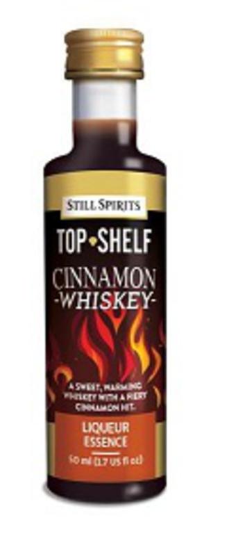 "Top Shelf ""Cinnamon Whisky"""