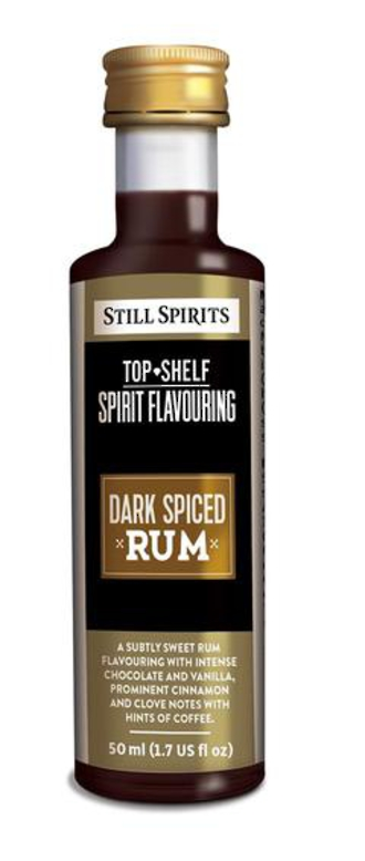 Top Shelf Dark Spiced Rum