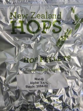 Hop Pellets Wai-iti 100g