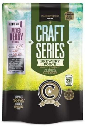 "Mangrove Jack's Craft Series ""Mixed Berry Cider"" 2.4kg"