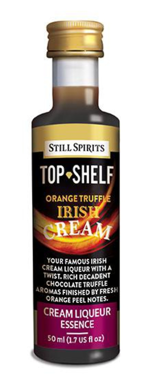 "Top Shelf ""Orange Truffle"" Irish Cream"