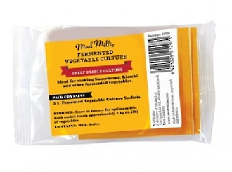 Mad Millie's Fermented Vegetable Culture 5 Pack