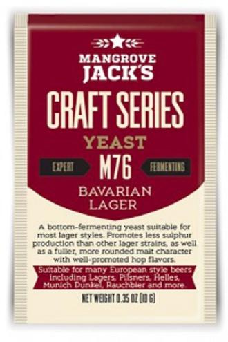 """Mangroves Jack's """"Bavarian Lager """" M76"""