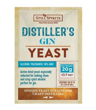 Distillers Yeast Gin