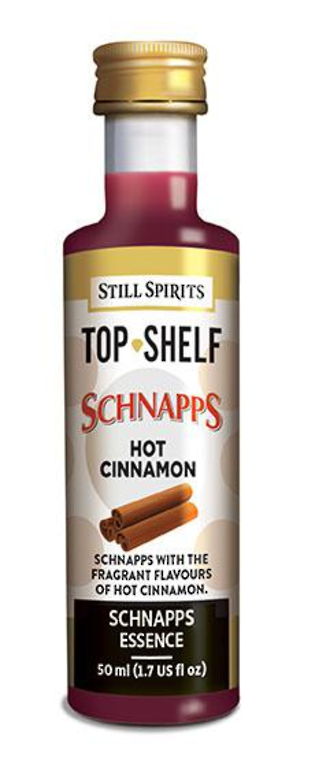 Top Shelf Hot Cinnamon Schnapps