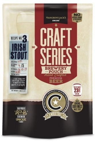 "Mangrove Jack's Craft Series ""Roasted Stout"" 2.2kg with dry hops"