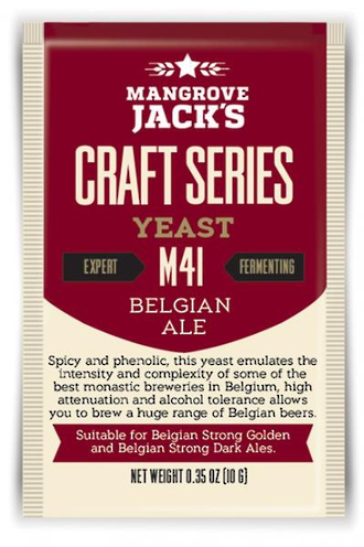 "Mangrove Jack's ""Belgian Ale"" M41"