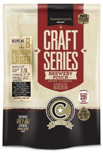 "Mangrove Jack's Craft Series ""Golden Lager"" 2.2kg"