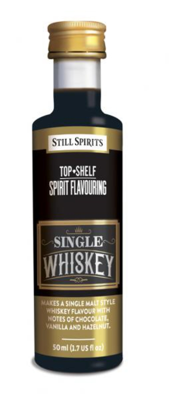 Top Shelf Single Whiskey