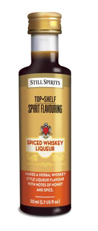 Top Shelf Spiced Whiskey Liqueur