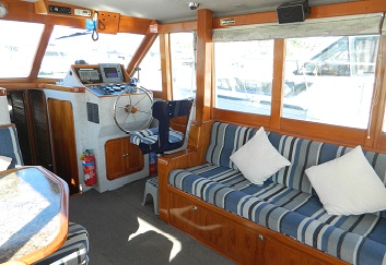 Gulf Harbour Charters Fremar Interior