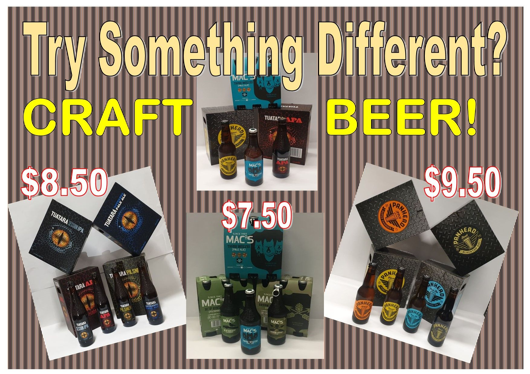 Craft Beer Promo Aug 2020