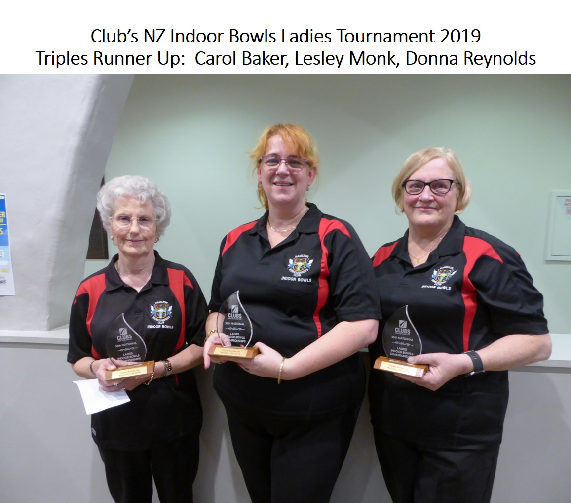 Ladies Nats 2019 Triples 3rd