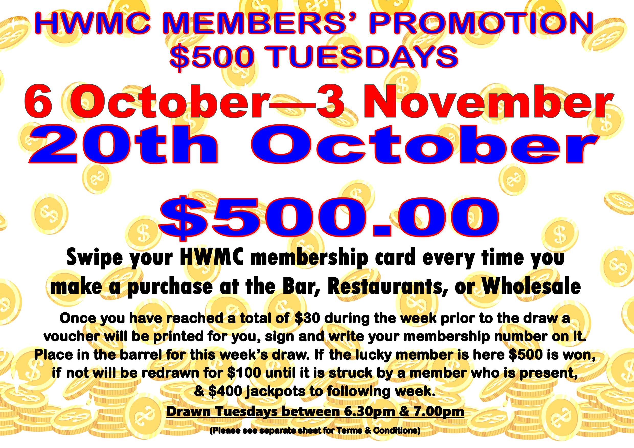 Oct - Nov 2020 Mship jackpot 20th Oct 2020