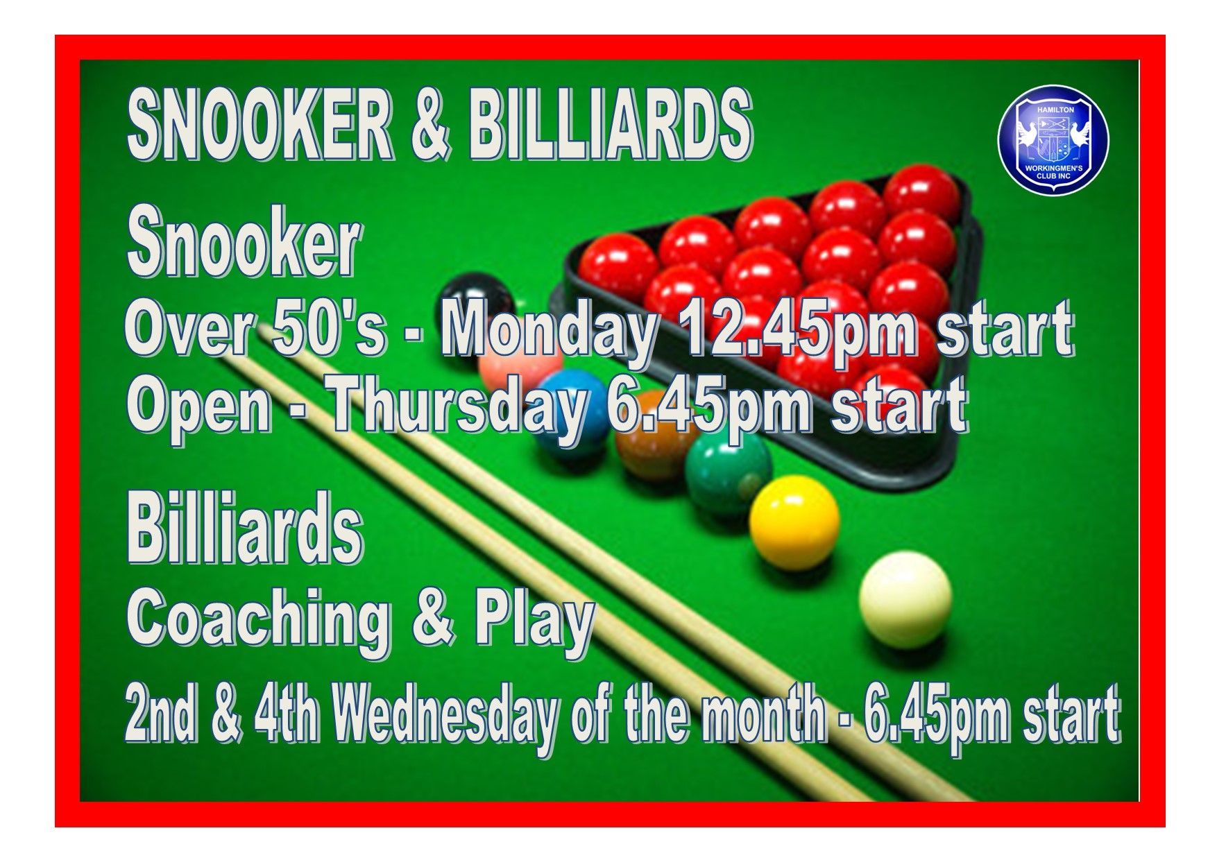Snooker Update October 2020