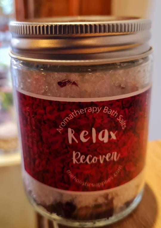 Relax Rose Petal Bath Salts
