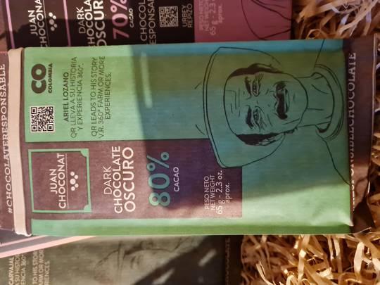 Juan Choconat cacao 80%