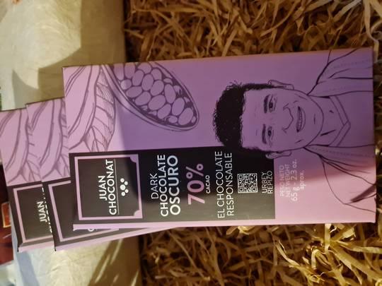 Juan Choconat 70% cacao
