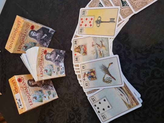 Lenormand Oracle card Readings