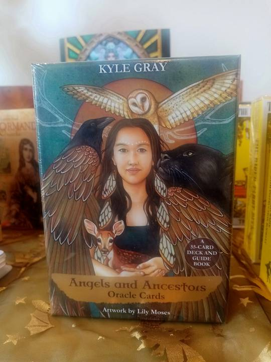 Angels and Ancestors Oracle deck
