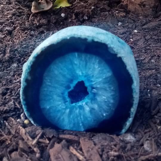 Geode Rock (blue)