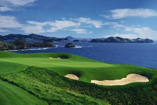 Kauri Cliffs Heli Golf Day Tour