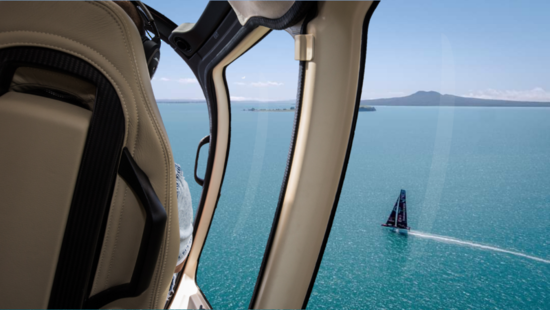 America's Cup and Prada Challenger Series - Shared  Flights