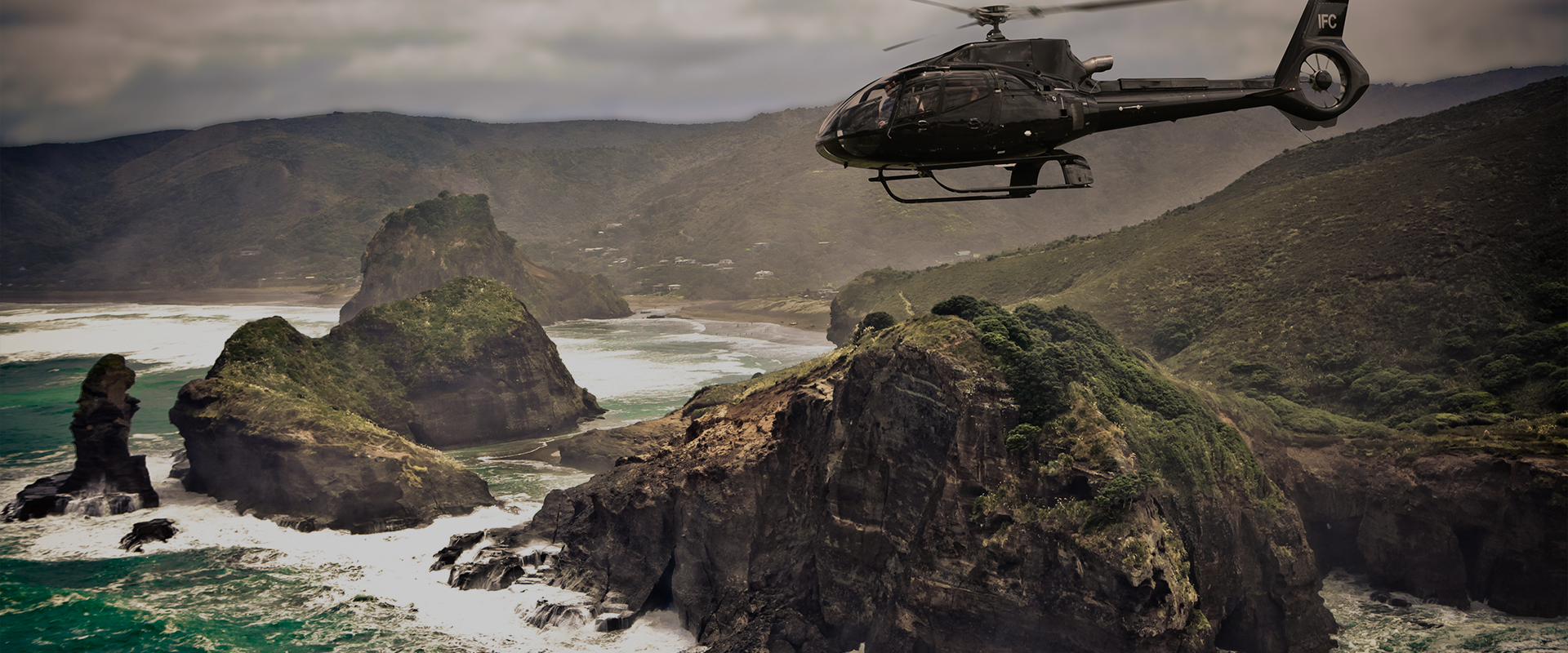 Helicopter Tours Auckland