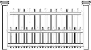 Albury & Bexley Fence Panels