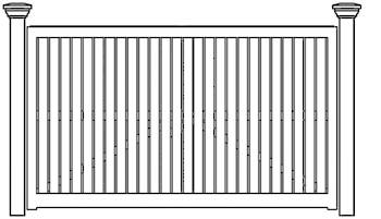 Kingsbury Fence Panels