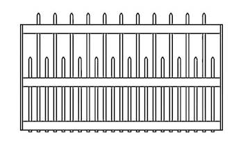 Portland/Richmond Fence Panels