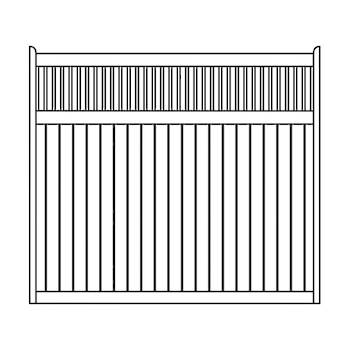 Rockland/Virginia/Phoenix Fence Panels