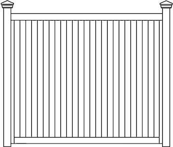 TG&V Fence Panels